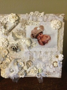 Layout Using Diemond Dies Realistic Roses Die Set and Pine Branch Die