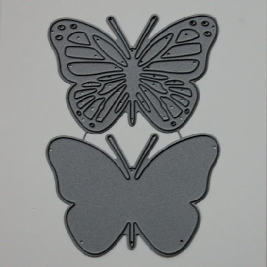 Diemond Dies Monarch Butterfly Die Set - Large