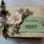 Mini Album Using Diemond Dies Realistic Roses Die Set