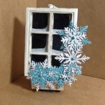 Ornament made with Diemond Dies Winter Snowflake Set