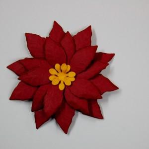 Diemond Dies Pretty Poinsettia Flower