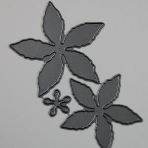 Diemond Dies Pretty Poinsettia Die Set