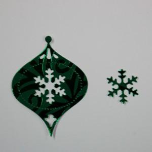 Diemond Dies Vintage Christmas Ornament Die