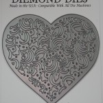Diemond Dies Filigree Heart Die