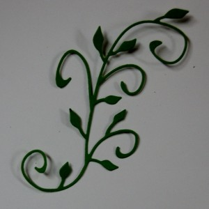 Diemond Dies Natures Flourish Die cut