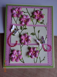 Card Created by Becky McAuley Using Diemond Dies Mini Must Haves Die Set