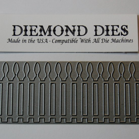 Diemond Dies Picket Fence Die
