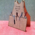 Card Made With Diemond Dies Mr. Fix It Tools Die Set Created by Janice Hughes