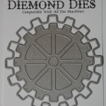 Diemond Dies Steampunk Gears Mini Album Die Set