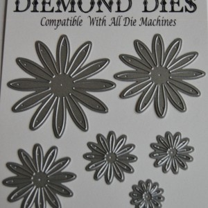 Diemond Dies Asters Die Set