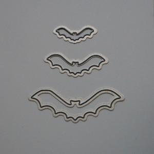 Diemond Dies Flying Bats Set