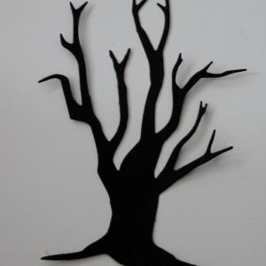 Diemond Dies Spooky Tree Die Cut