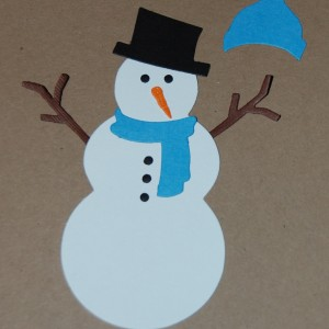 Diemond Dies Build A Snowman Die Set
