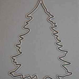Diemond Dies Christmas Tree Die