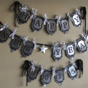 Banner Made Using Diemond Dies Nesting Tags and Labels 1 Die Sets Created by Scrappinology