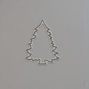 Diemond Dies Small Christmas Tree Die