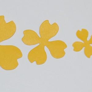 Diemond Dies Dogwood Flowers Die Set
