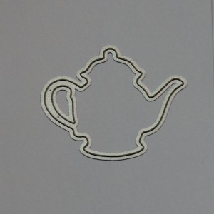 Diemond Dies Teapot Mini Album Die