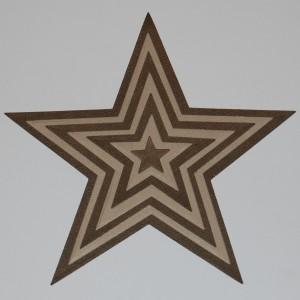 Diemond Dies Nesting Stars Die Cuts