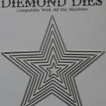 Diemond Dies Nesting Stars Die Set