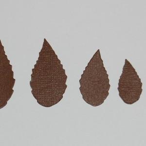 Diemond Dies Medley of Leaves Die Cuts