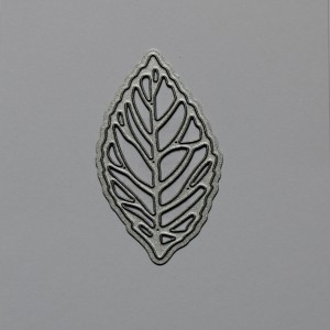 Diemond Dies Skeleton Leaf