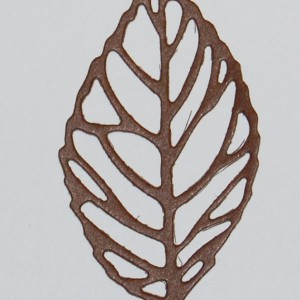 Diemond Dies Skeleton Leaf Die Cut