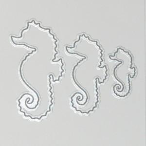 Diemond Dies Seahorses Die Set