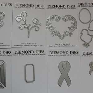 Diemond Dies January 2016 Die Release Bundle