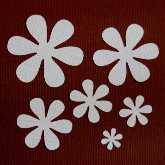 Diemond Dies Daisy Flowers Die Set