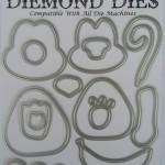 Diemond Dies Monkey Buildable Die Set