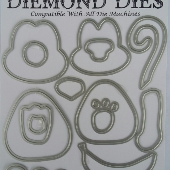 Diemond Dies Monkey Buildable Die Set