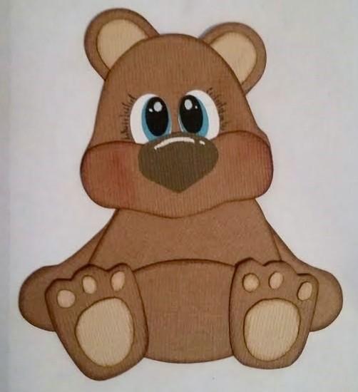 Diemond Dies Teddy Bear Buildable Die Set