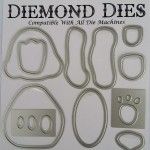 Diemond Dies Teddy Bear Buildable Die Set