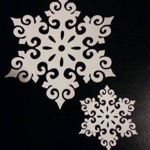 Mandala Snowflakes