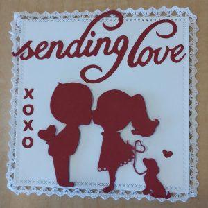 Deb Hendrick's Sweet Kiss Card