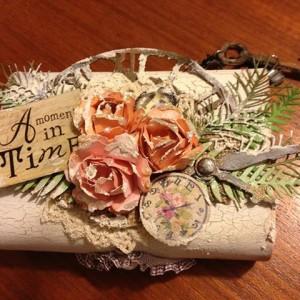 Altered Balsa Box using Pine Branch Die