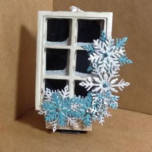 Ornament made with Diemond Dies Winter Snowflake Set