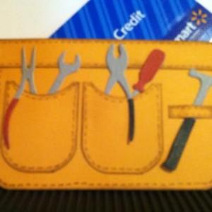 Card Made With Diemond Dies Mr. Fix It Tools Die Set Created by Janice Hughes