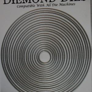 Diemond Dies Die-Normous Stack-Ems Nesting Circles Die Set