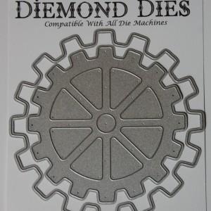 Diemond Dies Steampunk Gears Mini Album Die Set