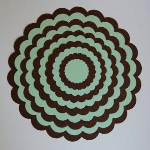 Diemond Dies Die-Normous Stack-Ems Nesting Scalloped Circles Die Set