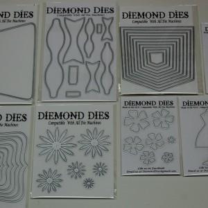 Diemond Dies August 2014 Release Bundle
