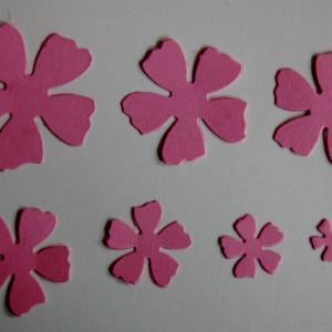 Diemond Dies Sugar Plum Flowers Die Set