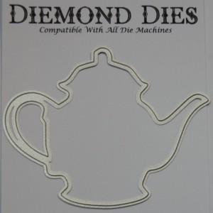 Diemond Dies Teapot Mini Album Die