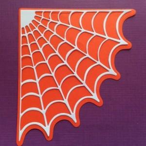 Diemond Dies Spooky Spider Web Mini Album Die