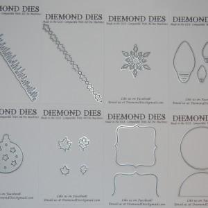 Diemond Dies November 2015 Release Bundle