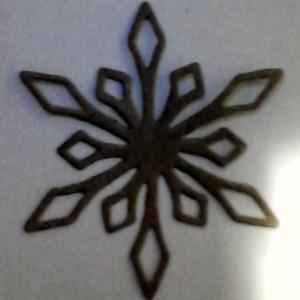Diemond Dies Snowflake #1 Die