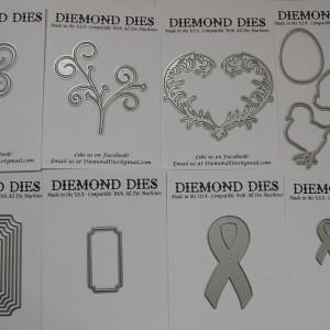 Diemond Dies January 2016 Die Release Bundle
