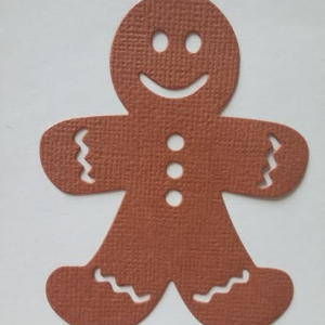 Diemond Dies Gingerbread Man Die